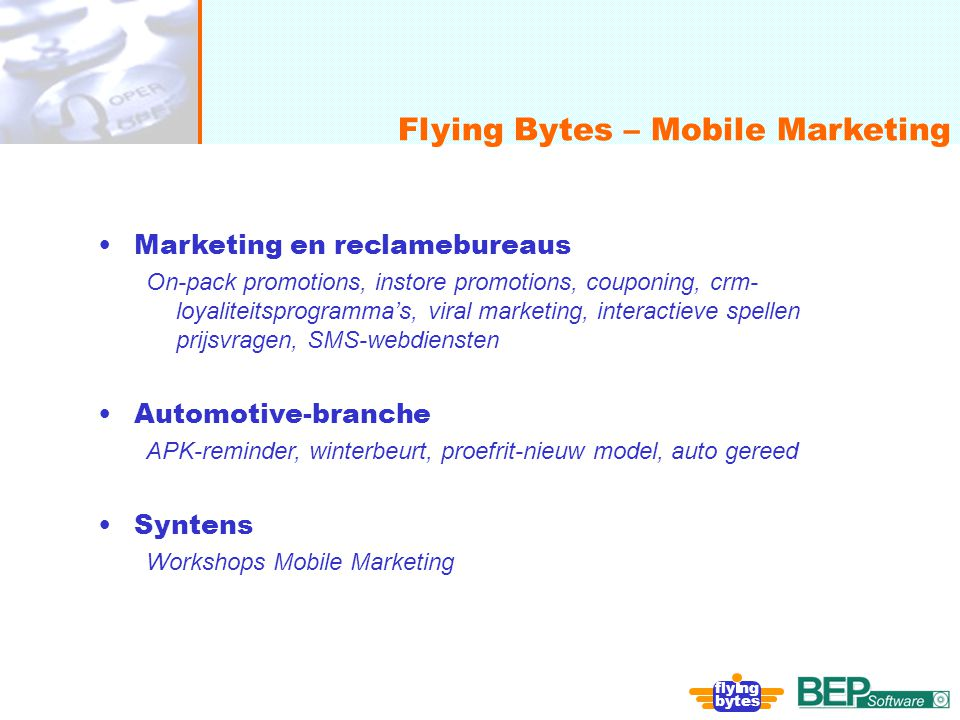 Flying Bytes – Mobile Marketing