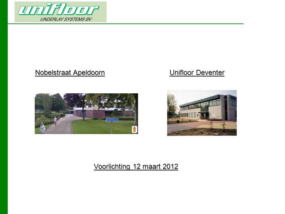 Nobelstraat Apeldoorn Unifloor Deventer