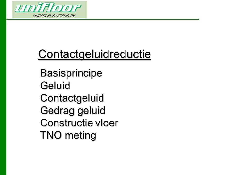 Contactgeluidreductie