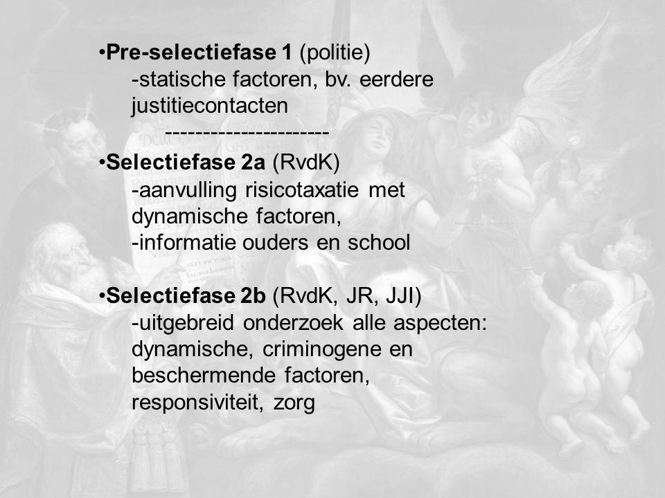Pre-selectiefase 1 (politie)