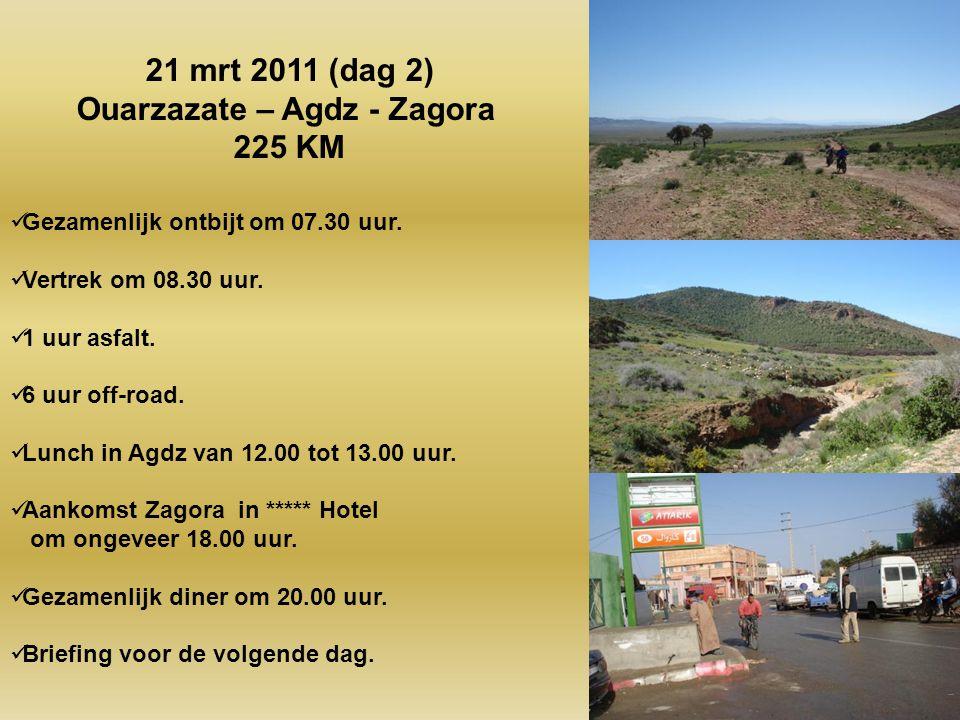 Ouarzazate – Agdz - Zagora