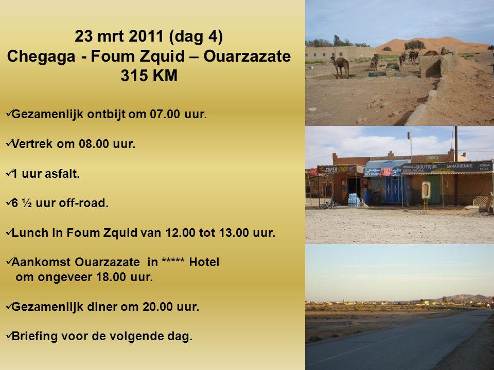 Chegaga - Foum Zquid – Ouarzazate
