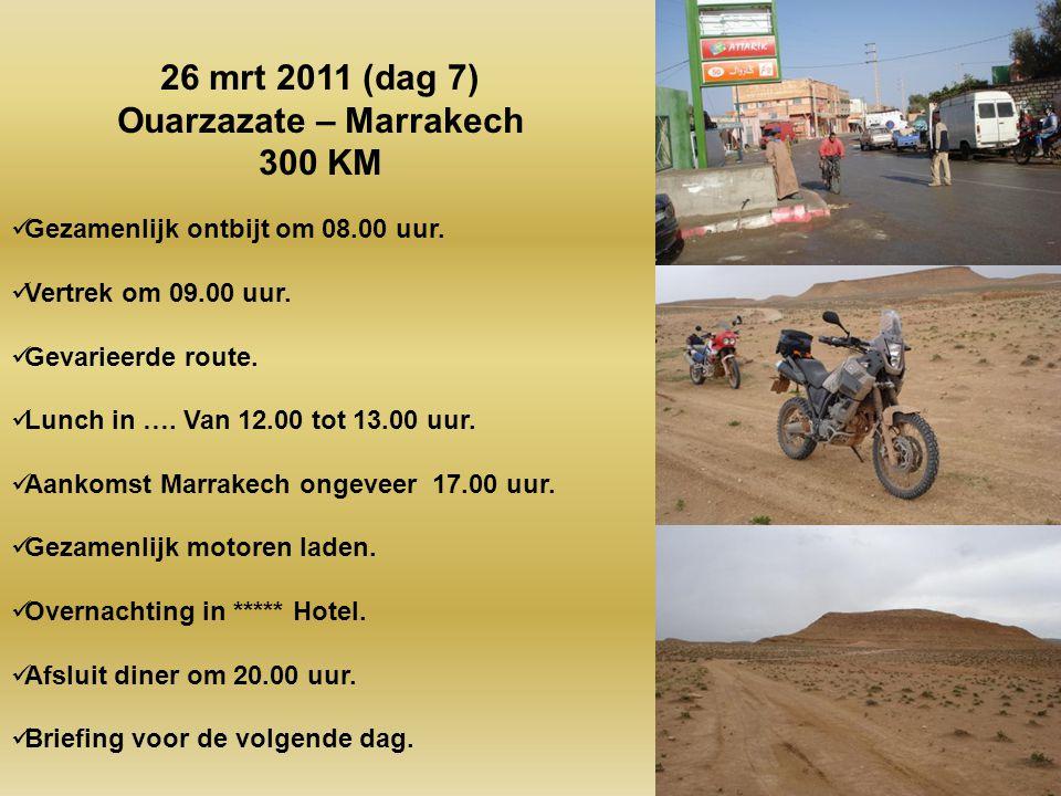 Ouarzazate – Marrakech