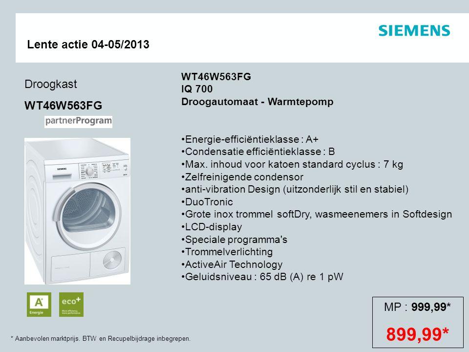 WT46W563FG IQ 700 Droogautomaat - Warmtepomp