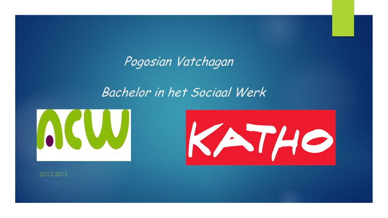Pogosian Vatchagan Bachelor in het Sociaal Werk