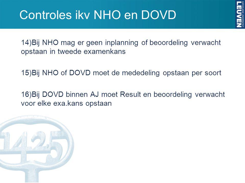 Controles ikv NHO en DOVD