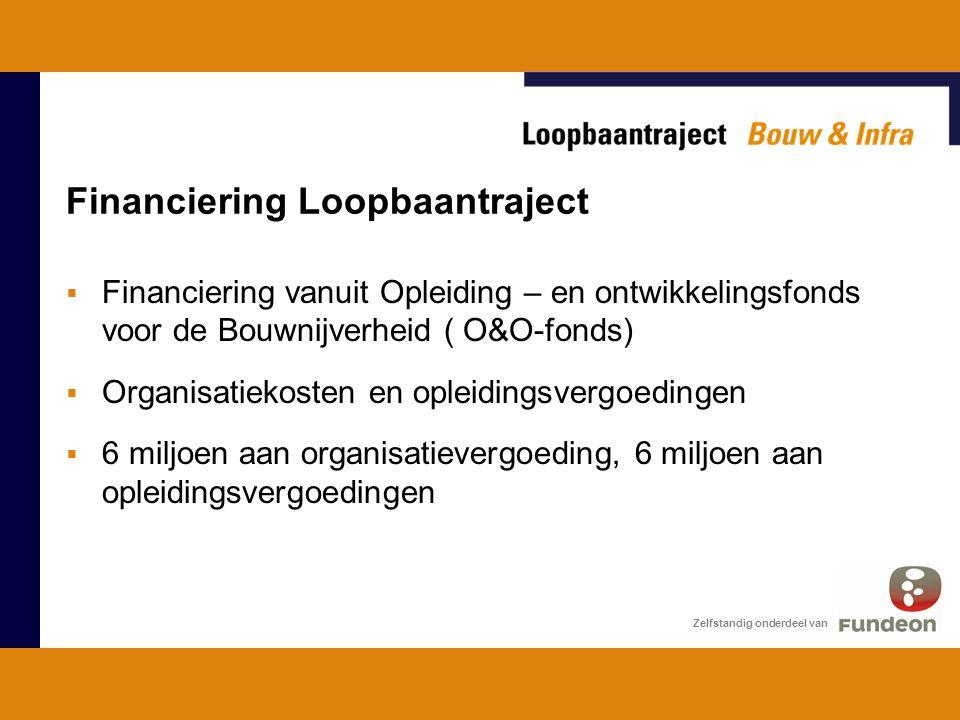 Financiering Loopbaantraject