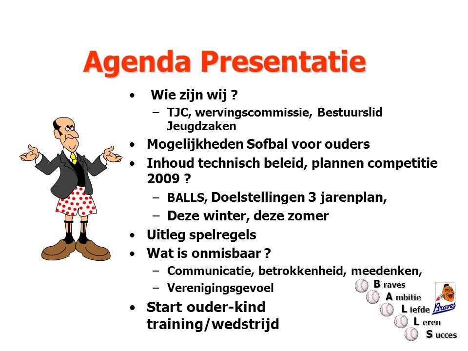 Agenda Presentatie Start ouder-kind training/wedstrijd Wie zijn wij