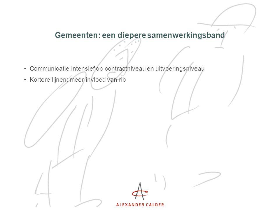 Gemeenten: een diepere samenwerkingsband