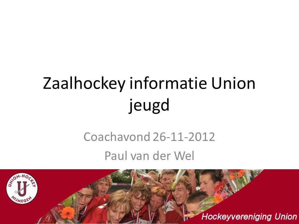 Zaalhockey informatie Union jeugd