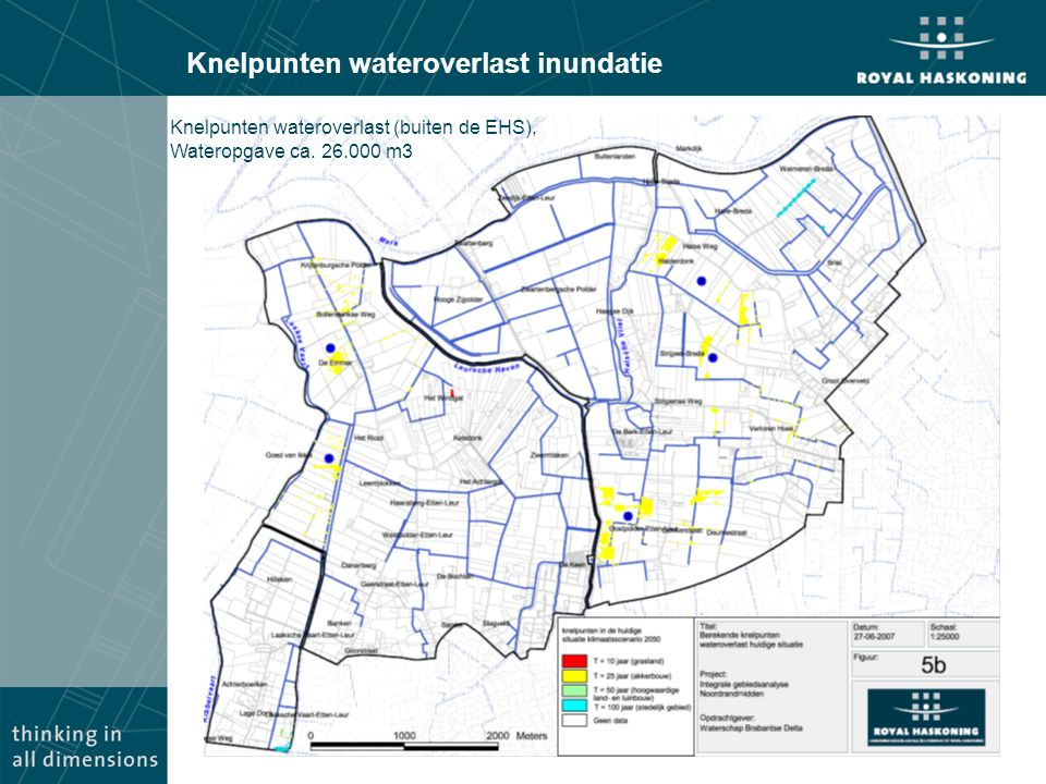 Knelpunten wateroverlast inundatie