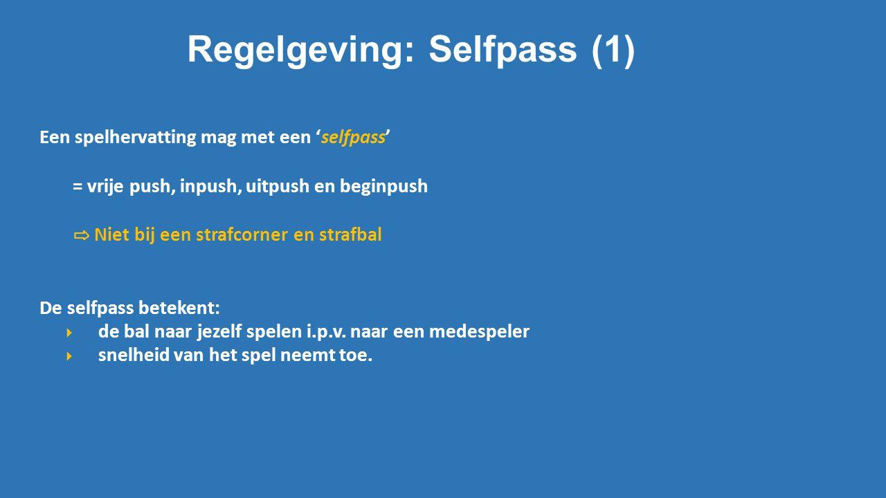 Regelgeving: Selfpass (1)