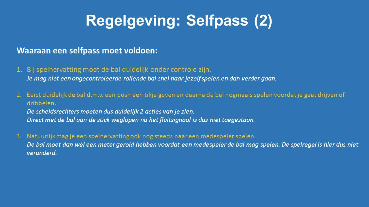 Regelgeving: Selfpass (2)
