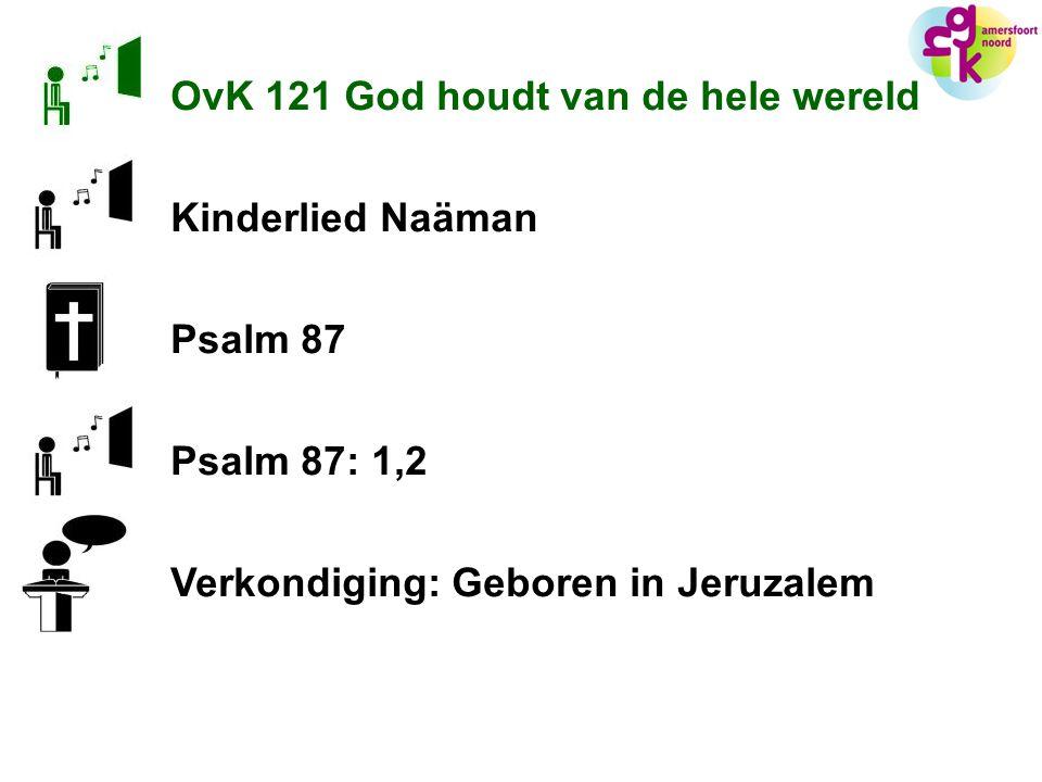 OvK 121 God houdt van de hele wereld