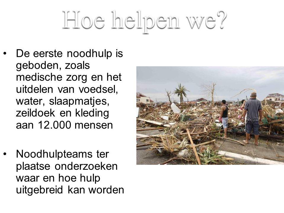 Hoe helpen we