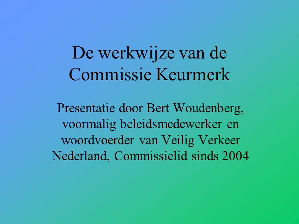 De werkwijze van de Commissie Keurmerk