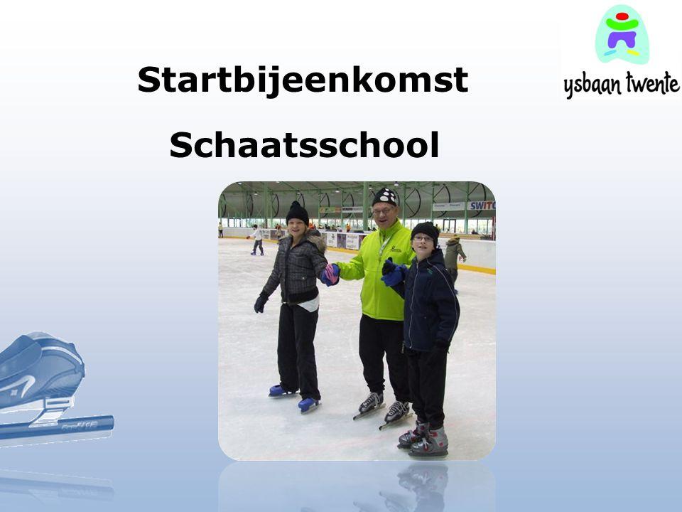 Startbijeenkomst Schaatsschool