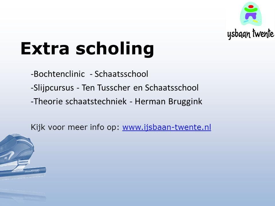 Extra scholing Bochtenclinic - Schaatsschool