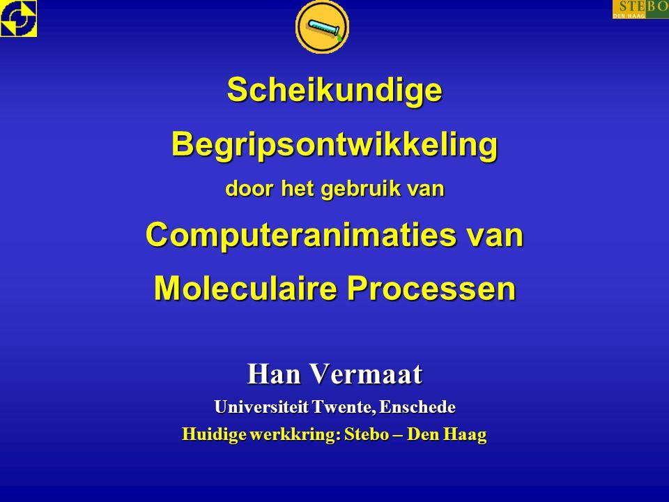 Universiteit Twente, Enschede Huidige werkkring: Stebo – Den Haag