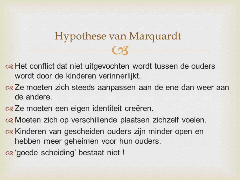 Hypothese van Marquardt