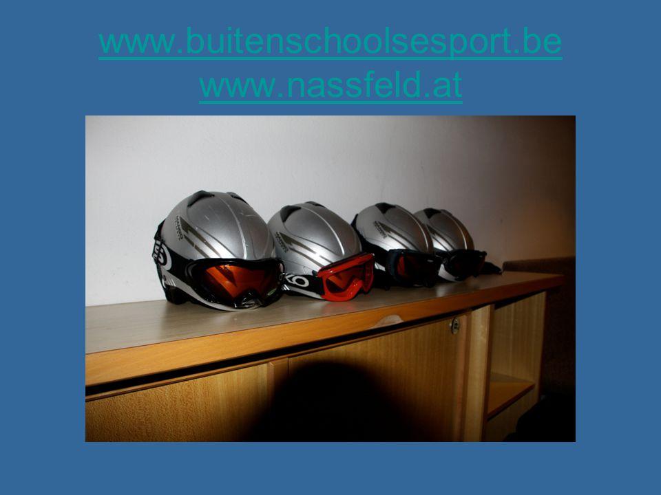 www.buitenschoolsesport.be www.nassfeld.at