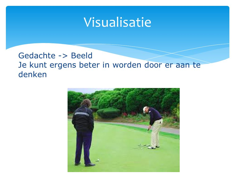 Visualisatie Gedachte -> Beeld
