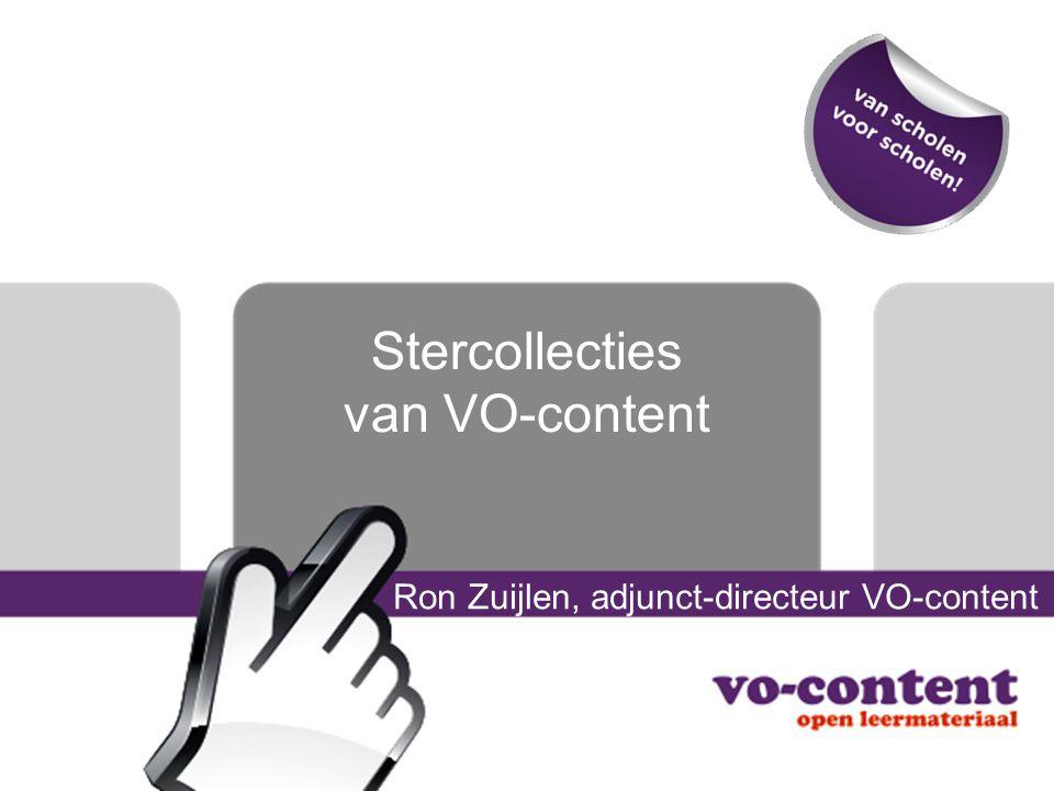 Stercollecties van VO-content