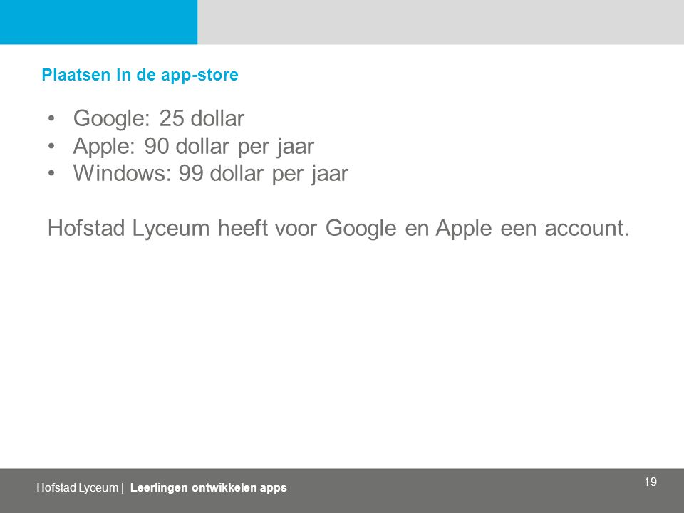 Windows: 99 dollar per jaar