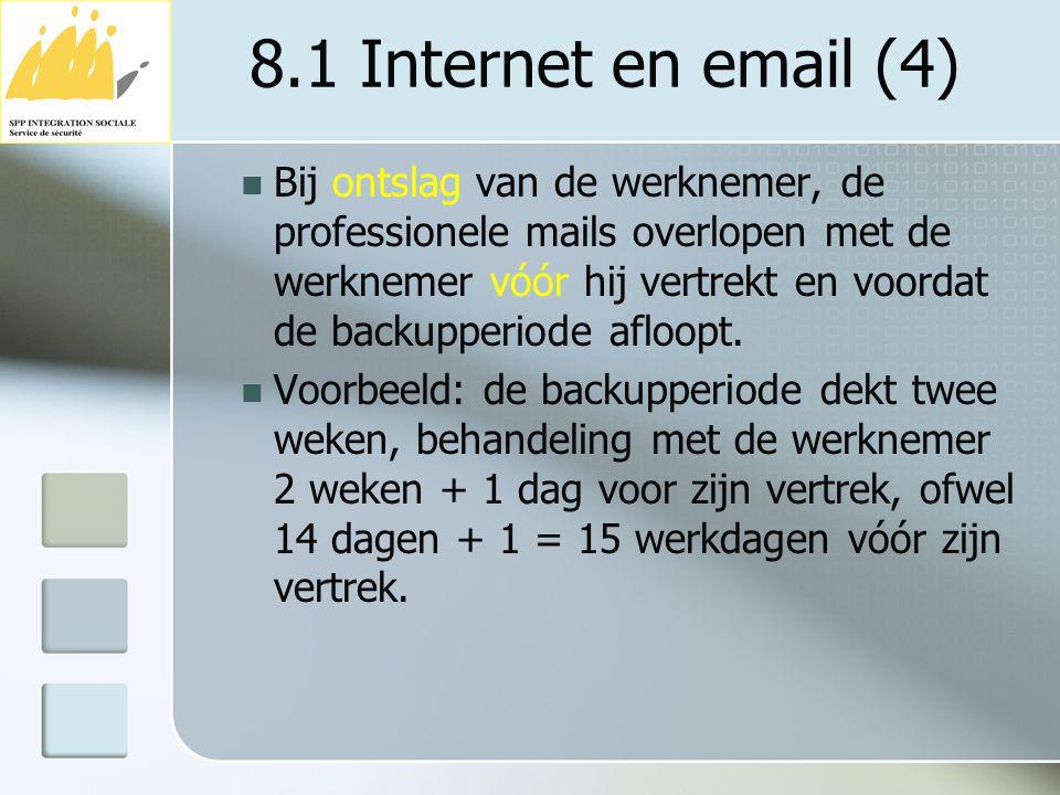 8.1 Internet en email (4)