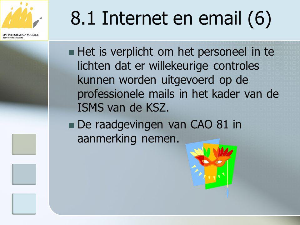 8.1 Internet en email (6)