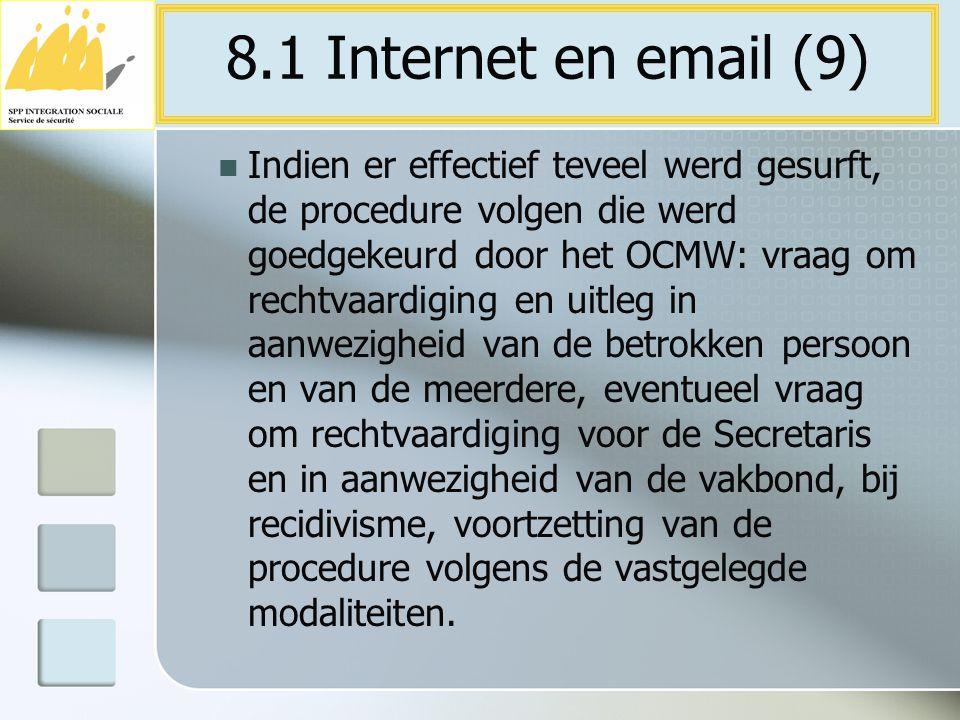 8.1 Internet en email (9)
