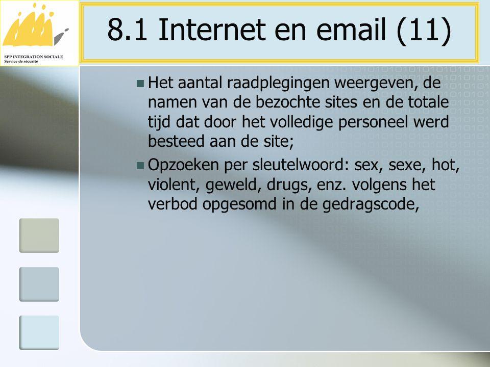 8.1 Internet en email (11)