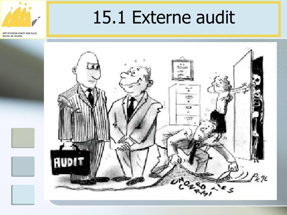 15.1 Externe audit