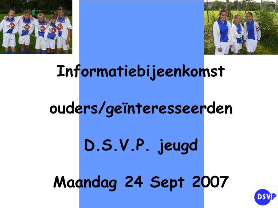 Informatiebijeenkomst ouders/geïnteresseerden