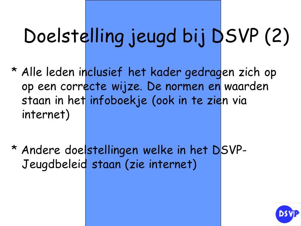 Doelstelling jeugd bij DSVP (2)
