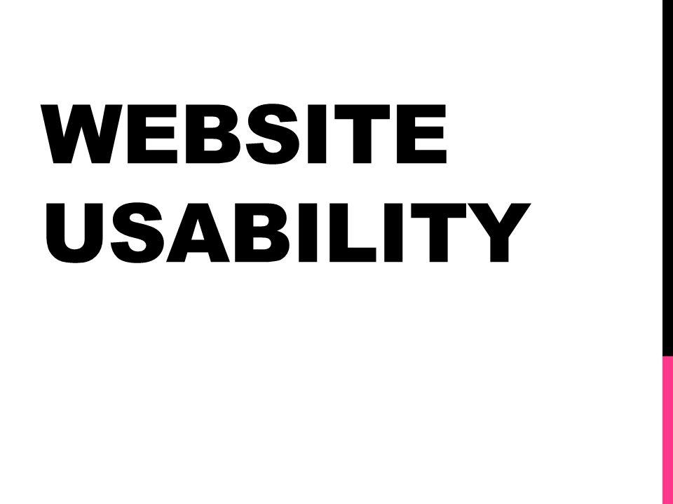 Website Usability