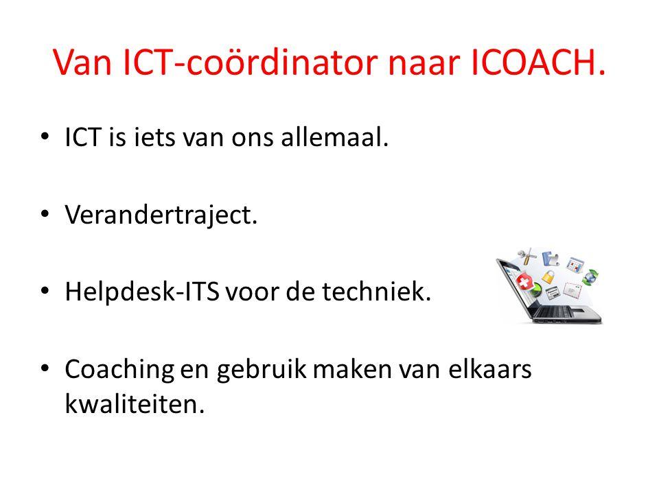 Van ICT-coördinator naar ICOACH.