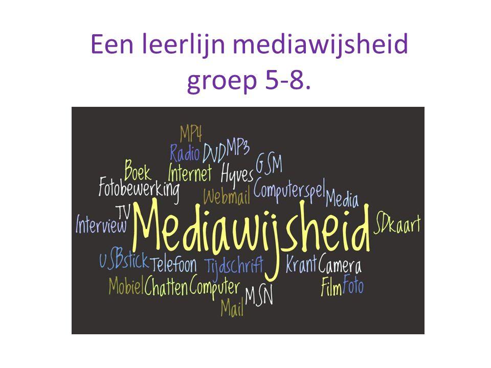 Een leerlijn mediawijsheid groep 5-8.