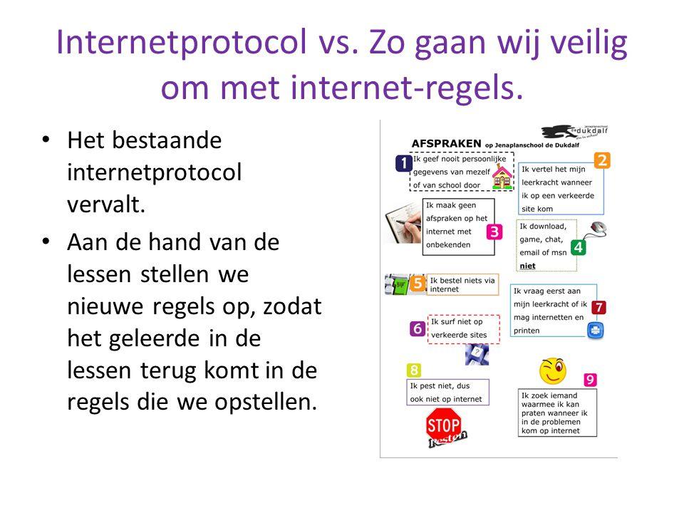 Internetprotocol vs. Zo gaan wij veilig om met internet-regels.