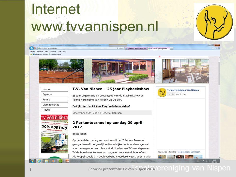 Internet www.tvvannispen.nl