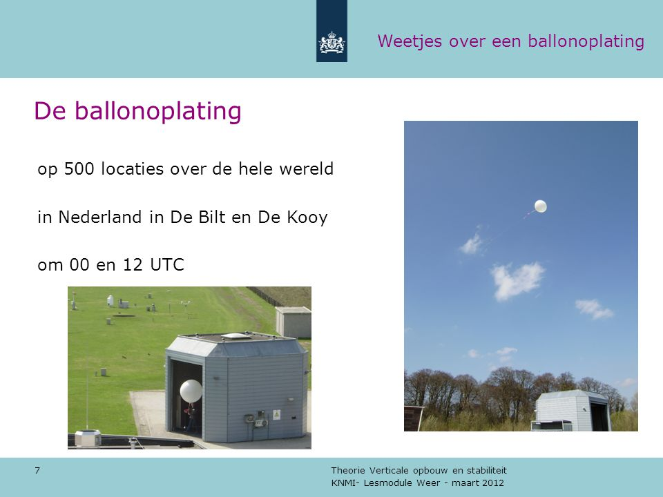 De ballonoplating Weetjes over een ballonoplating