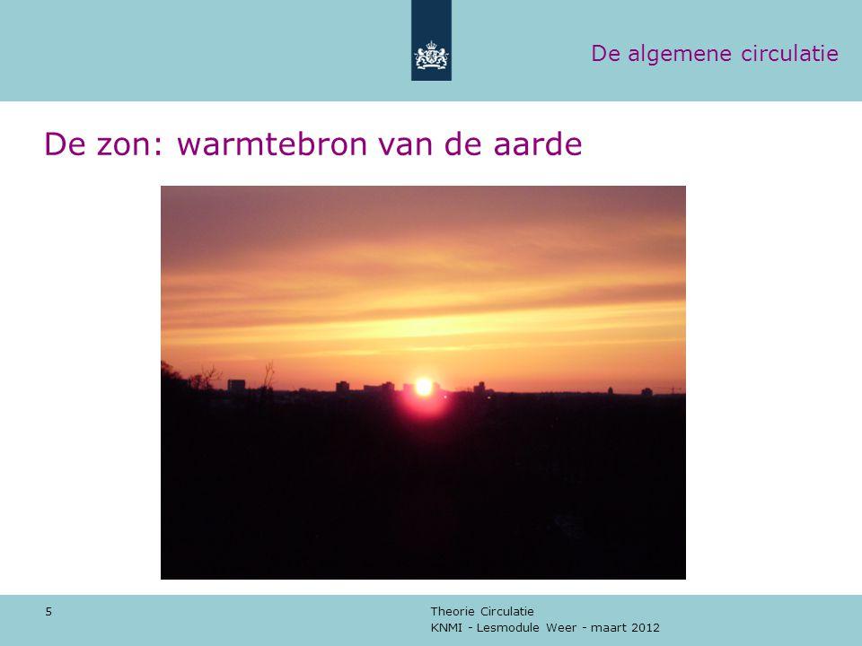 De zon: warmtebron van de aarde