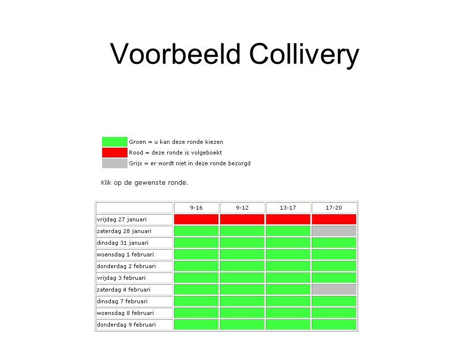 Voorbeeld Collivery