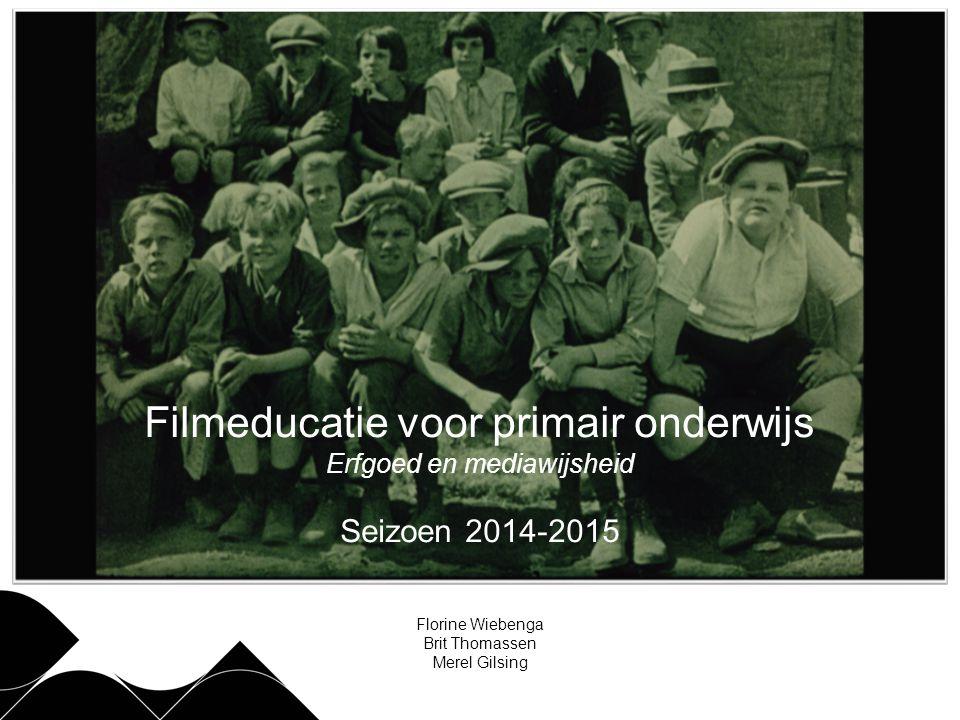 Filmeducatie voor primair onderwijs