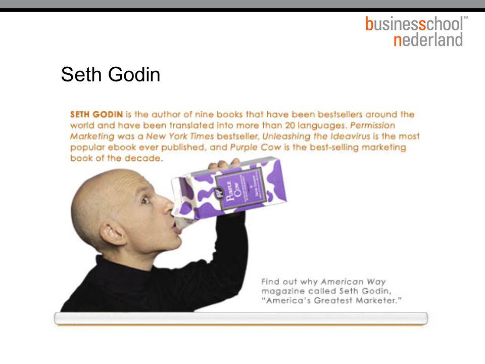 Titel presentatie Seth Godin Gemeente Amsterdam 1 januari 2003