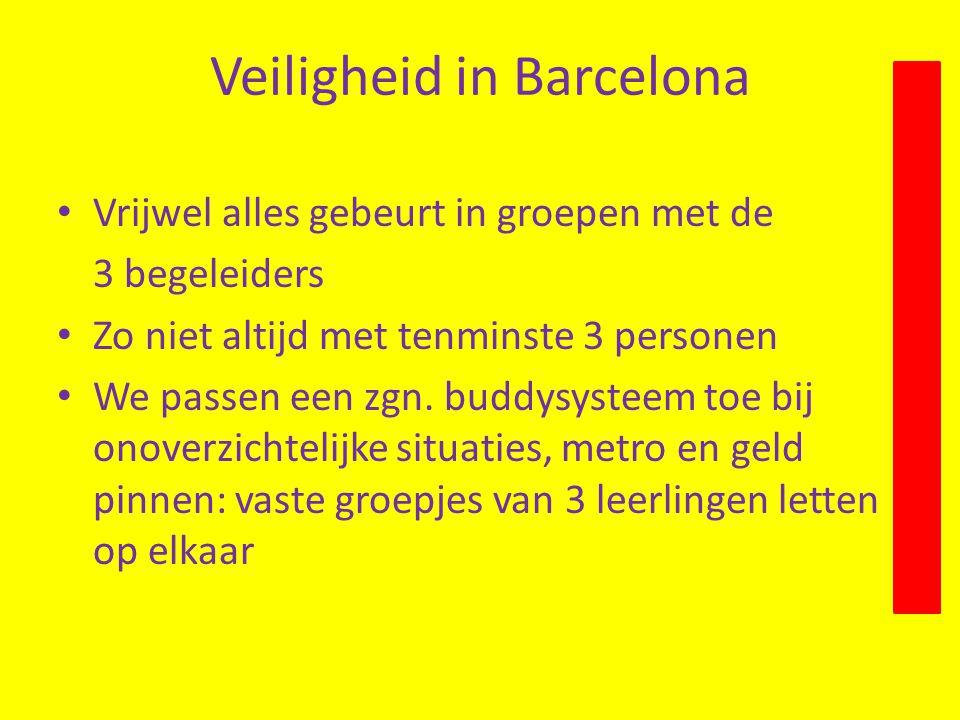 Veiligheid in Barcelona