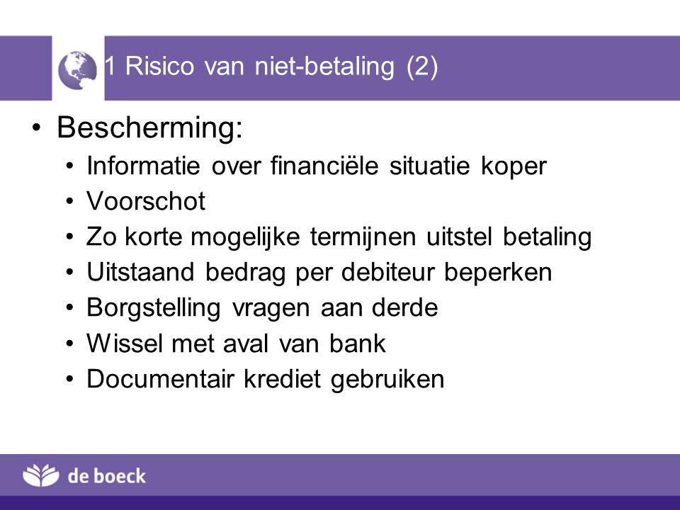 1 Risico van niet-betaling (2)