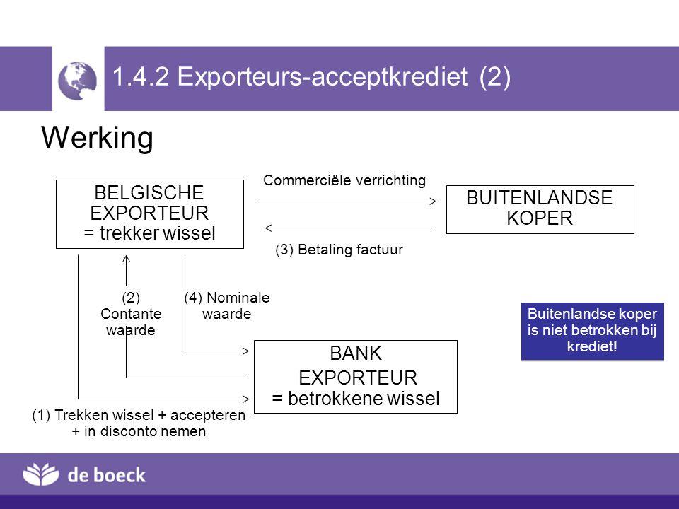 1.4.2 Exporteurs-acceptkrediet (2)