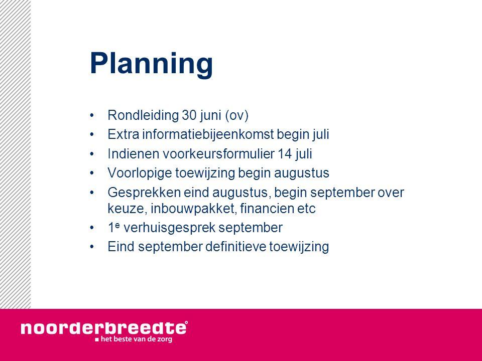 Planning Rondleiding 30 juni (ov)