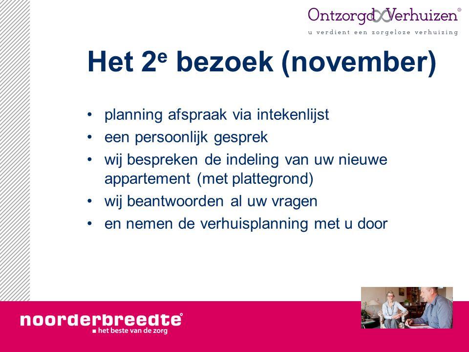 Het 2e bezoek (november)